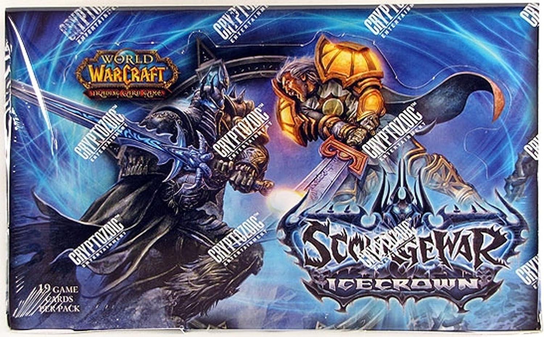 World of Warcraft Juego de Cartas coleccionables Hielo Corona Booster: Amazon.es: Juguetes y juegos