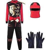 Katara Disfraz de Ninja, Color Rojo-Kai, Talla L (8-10 años) (1771-06)