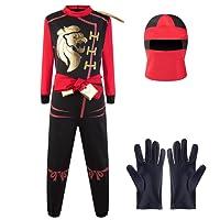 Katara 1771 - Disfraz de Ninja Kai - Traje para Niños Talla L 8-10 Años, Rojo