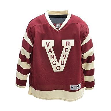 Amazon.com  Reebok Vancouver Canucks Blank Burgundy NHL Kids NHL ... 76e796002