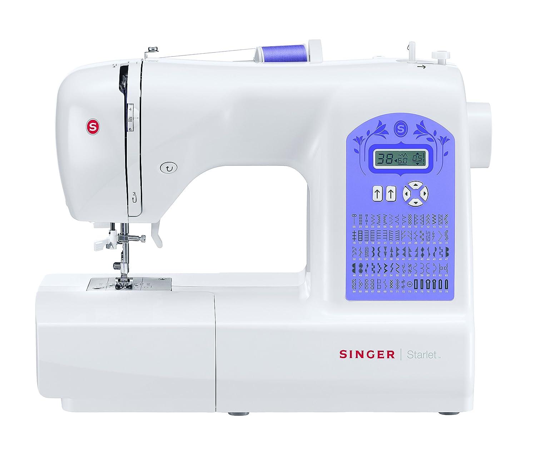 Singer Starlet Máquina de coser electrónica funciones de costura