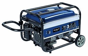 Einhell BT-PG 2800/1 - Generador eléctrico de gasolina (Sistema AVR (Regulación Automática Voltaje), depósito de 15 l) color azul: Amazon.es: Bricolaje y ...