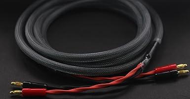 KK ZB-SB 1pair Set //5M HiFi OFC Speaker Wire 22.9ft Banana Plug to Pin Type Plug 1.5M //7M 4.92ft 9.84ft 4banana/&4pin 16ft //3M KK ZB-SB