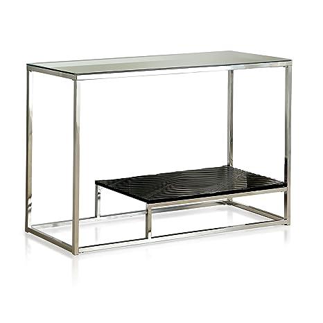 Amazon.com: Muebles de América gacelle Contemporáneo Glass ...