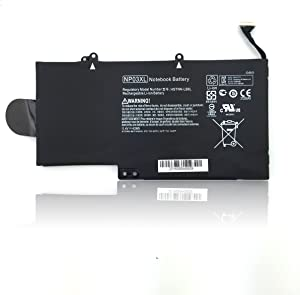 NP03XL Laptop Battery for HP Pavilion X360 13-A010DX 13-A012DX 13-A013CL 13-A110DX HP Envy X360 15-U010DX 15-U011DX 15-U110DX 15-U111DX 760944-421-18 HSTNN-LB6L TPN-Q146