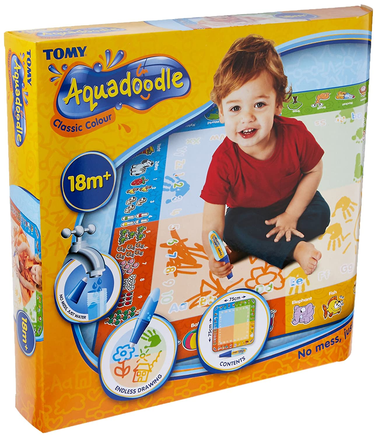 Aquadoodle Classic Colour – Mess Free Drawing Fun for Children ages 18 months+