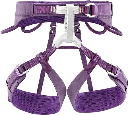 Petzl Cinturón de cadera Luna para mujer, color morado, XS