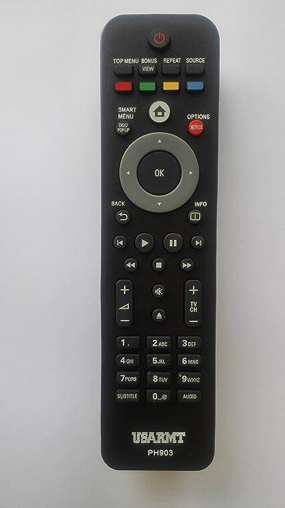 Philips - Mando a Distancia Universal para televisor Philips (Compatible con Casi el 99% de la Marca Philips): Amazon.es: Electrónica