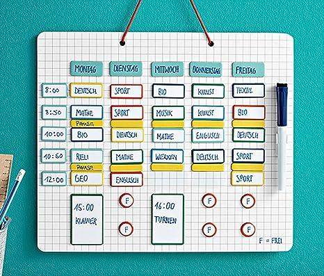 Calendario Scrivibile.Settimana Piano Orario Dell Agenda Calendario Per Gli