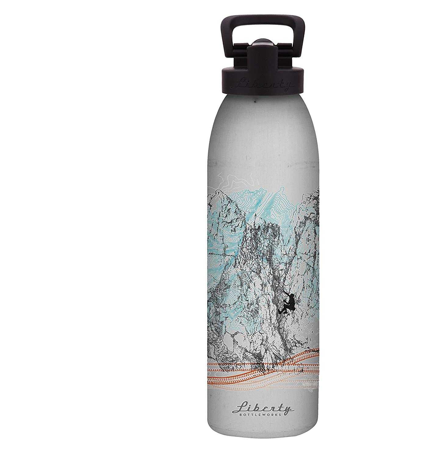 Liberty Bottleworks climb-axe Aluminium Wasser Flasche, Made in USA