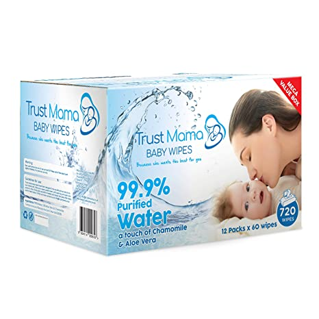 9 packs x 60 wipes WaterWipes Baby Wipes Sensitive Skin 540 wipes