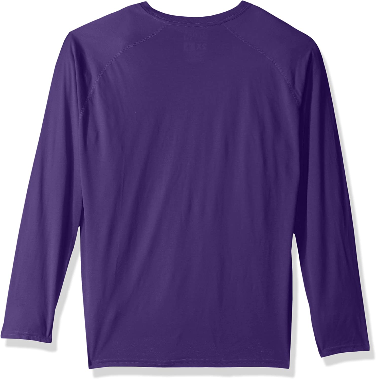 MLS Orlando City FC Adult Men Dassler Ultimate L//S Tee Regal Purple 4X-Large