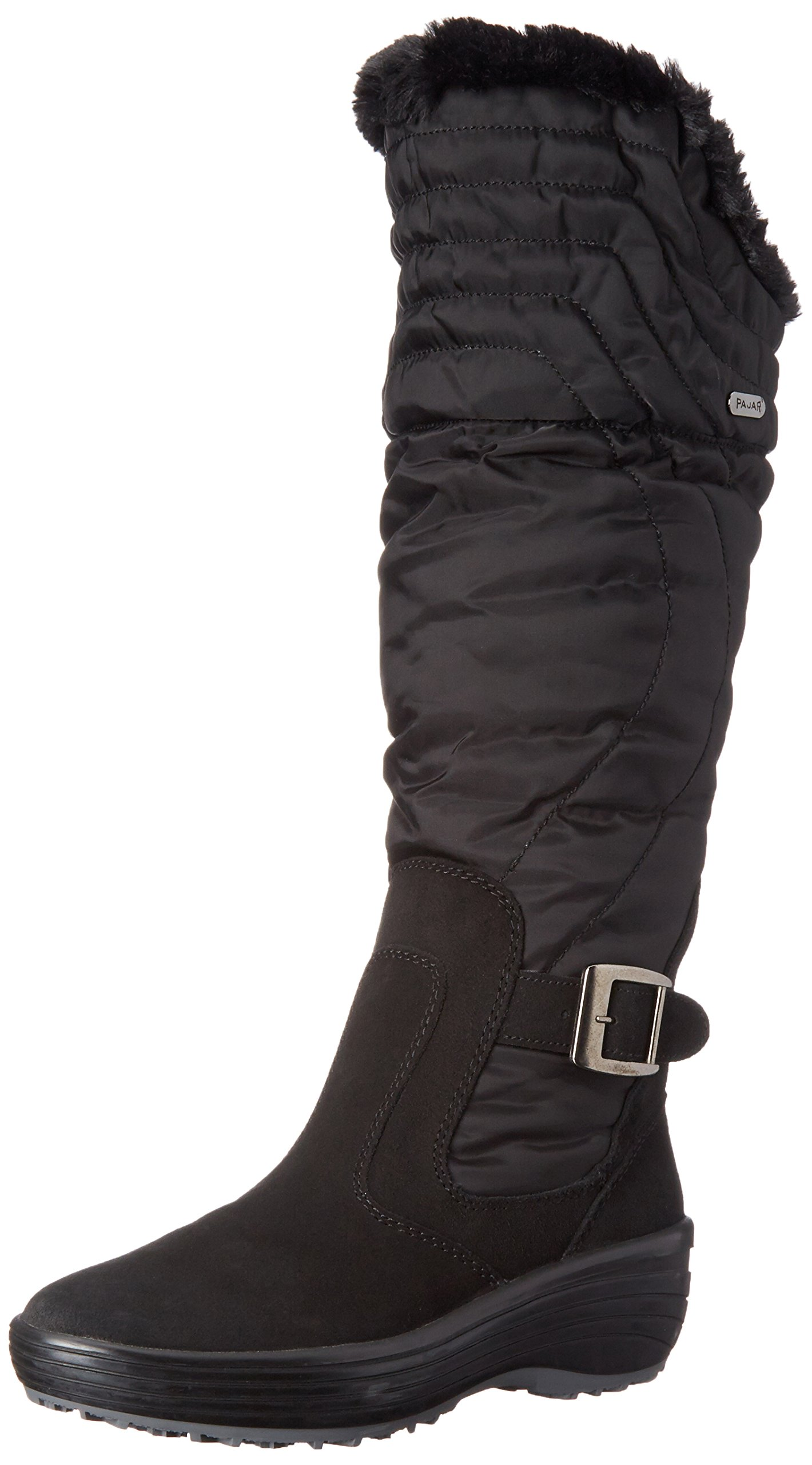 Pajar Women's Natasha Boot, Black, 40 EU/9-9.5 M US