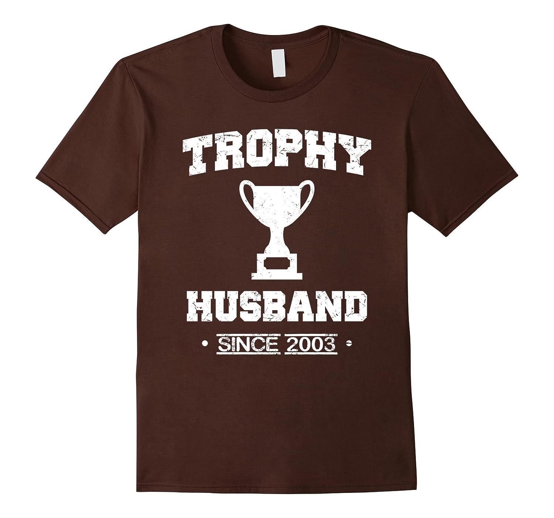 Mens Trophy Husband Since 2003 T-Shirt-PL