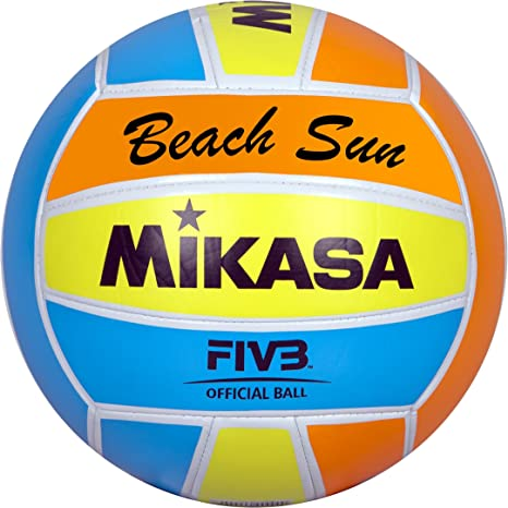 MIKASA 1632 Beach Sun - Pelota para Volley-Playa (tamaño 5 ...
