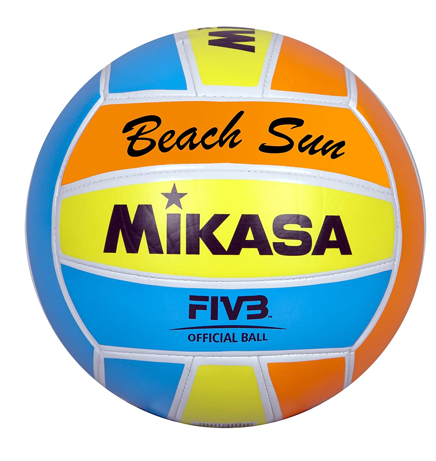 Mikasa beach volley-volleyballpaket 5 balles beach sun B00UFS98DC