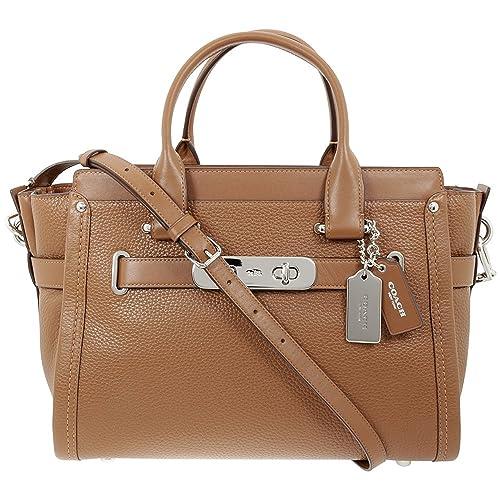 Coach Para mujer 34408SVSD bolso de mano Medium: Amazon.es: Zapatos y complementos
