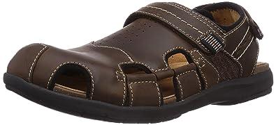 4e073f942e1a4 Clarks Men s Unbryman Bay Fashion Sandals brown Size  13 UK  Amazon ...