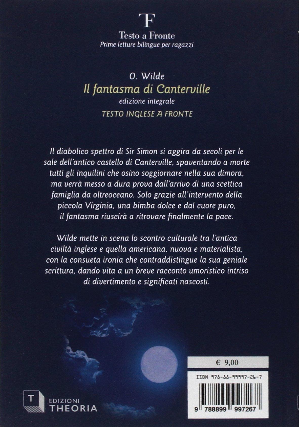 Amazon.it: Il fantasma di Canterville. Testo inglese a fronte. Ediz ...