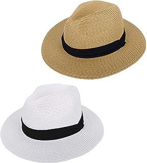 19fc5281c21 Simplicity Women s Wide Brim Straw Panama Sun Hat