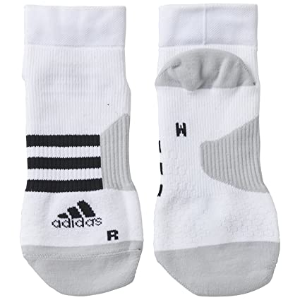 adidas Ten ID Ankle1PP - Calcetines Unisex, Color Blanco/Negro/Gris, Talla