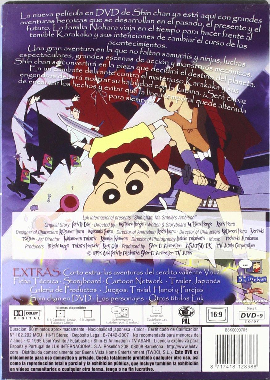 Shin Chan: Ambición de karakaka [DVD]: Amazon.es: Varios ...