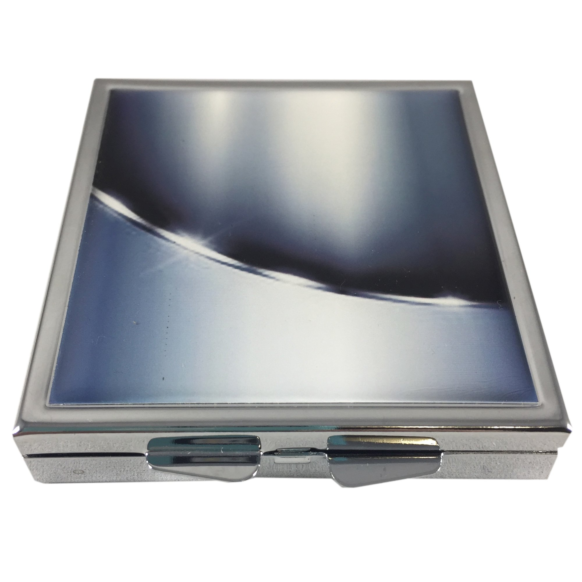 Sleek Metallic Condom Carrying Case, Pocket/Purse/Travel Case-Discreetly Holds and Protects Two Condoms, Unisex