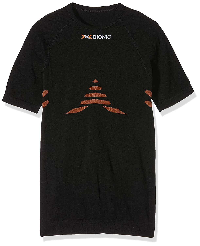X-Bionic Erwachsene Funktionsbekleidung Biking Man Energizer Light UW Shirt SH SL