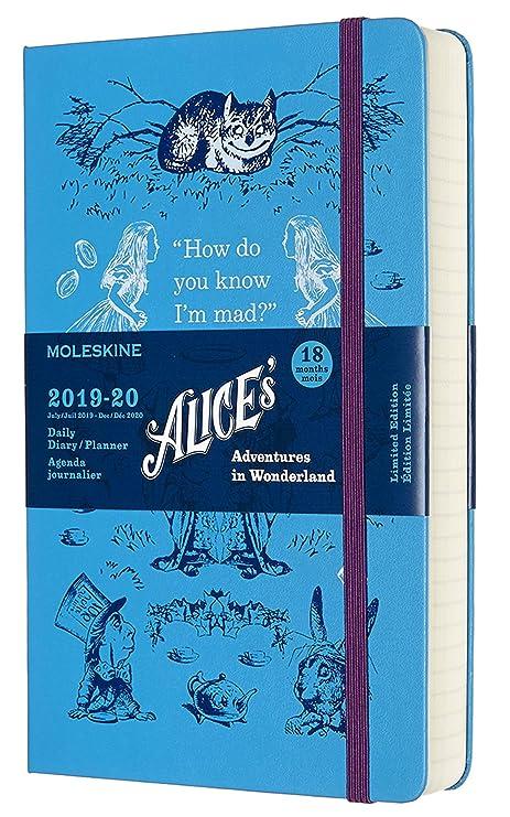 Amazon.com: Moleskine 2019-20 Alice in Wonderland - Agenda ...