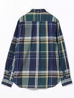 Big Check Buttondown Shirt 11-11-0723-139: Navy
