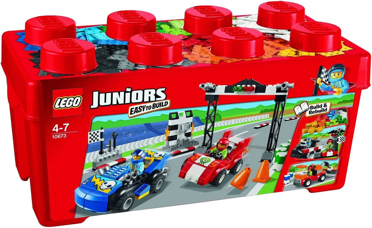 LEGO Juniors 10673 - Jeu De Construction Rallye LEGO