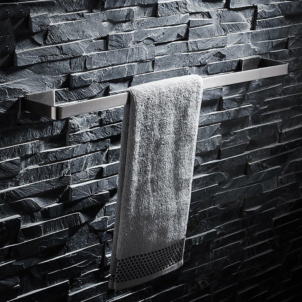 タオルバー 304ステンレススチールブラシタオルラックバスルームタオルラックバスルームタオルラック長タオルバー (サイズ さいず : 70cm) B07F6Z394N 70cm 70cm
