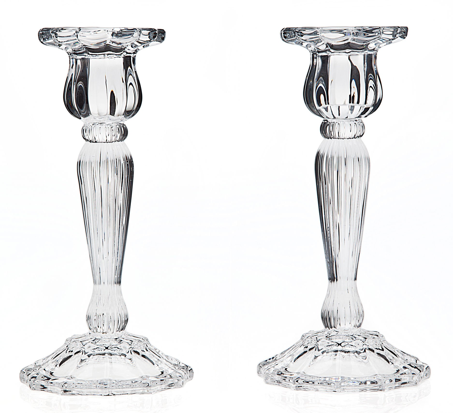 Godinger 2-pc. Triumph Crystal Candlestick Set