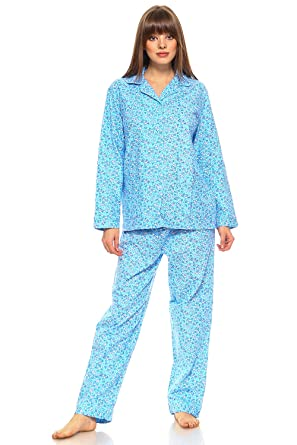 d450bbcbb2 MarCielo Women s Sleepwear 100% Cotton Pajama Set for Women ...