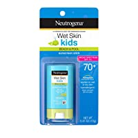 Neutrogena Wet Skin Kids Water Resistant Sunscreen Stick for Face and Body, Broad...