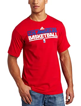 NBA Los Angeles Clippers práctica de Manga Corta Camiseta, Hombre, Los Angeles Clippers