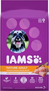 IAMS Proactive Health Senior Dry Dog Food, Chicken, All Breed Sizes