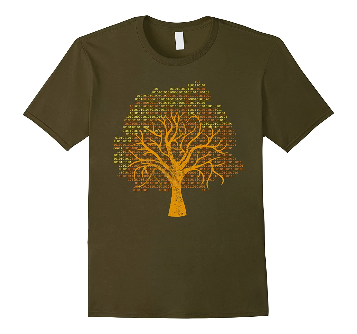 Binary Tree Computer Coding T-Shirt-Art