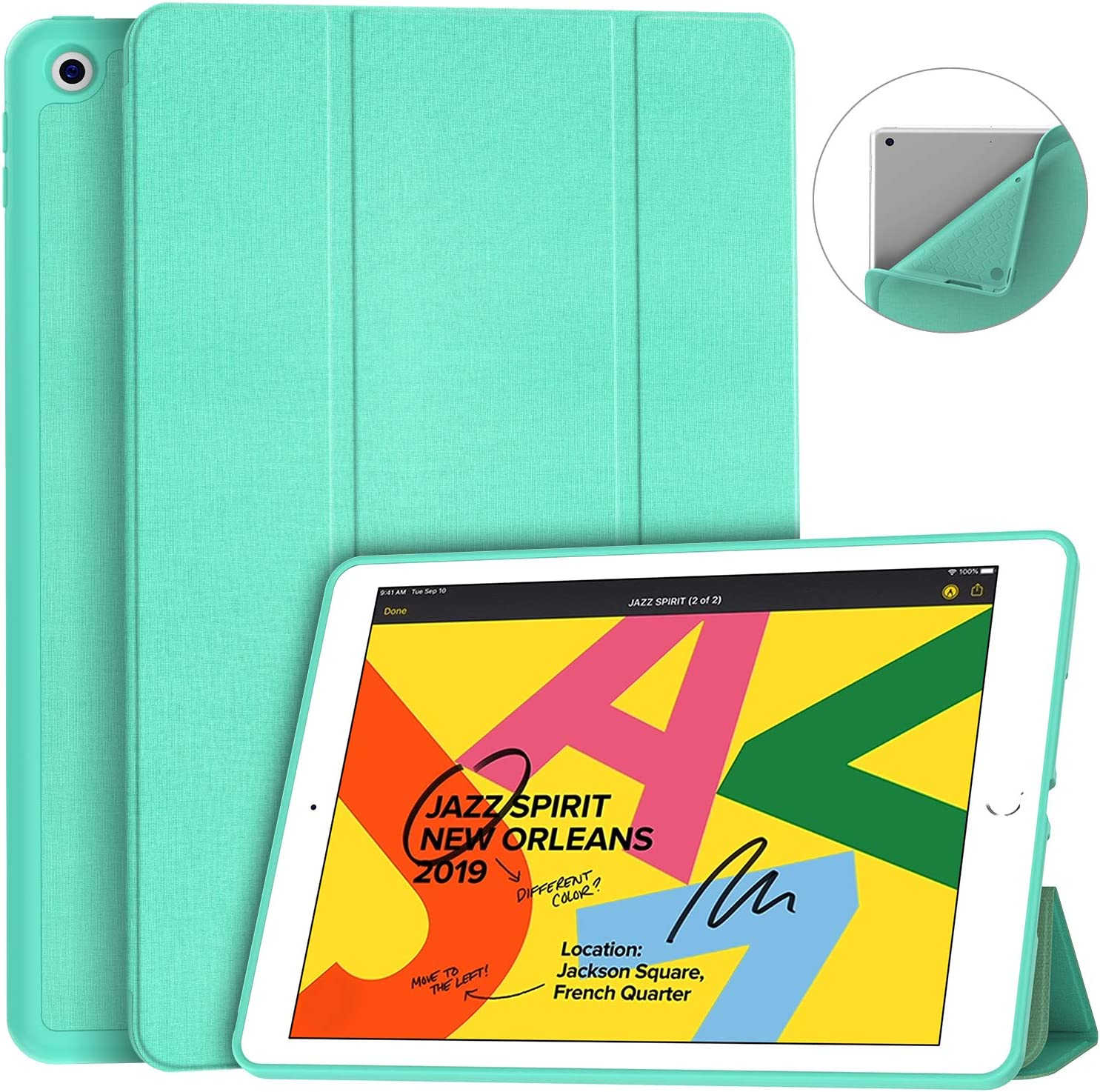Funda Para Apple iPad 7th Generacion 10.2-hcrt