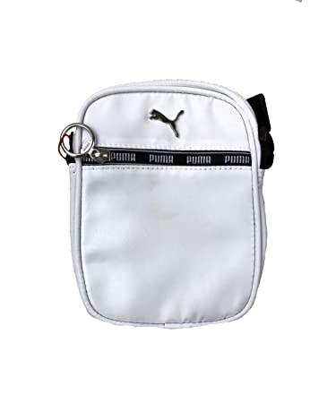 1c742cafab6 Amazon.com | Puma Mini Series Cross Body Bag (White/Black, One Size) | Messenger  Bags