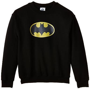 DC Comics Official Batman Logo, Sudadera para Niños, Negro 7 años: Amazon.es: Ropa y accesorios