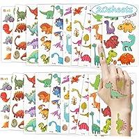Tijdelijke Tattoo Dinosaurus Stickers Kinderen Tatoeages voor Meisjes Nep Tattoos Dinosaurus Tattoo Set Waterdichte…
