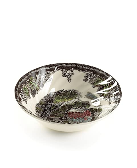 Johnson Brothers Friendly Village Soup/Cereal Bowl Round 6\u0026quot; Multicolored  sc 1 st  Amazon.com & Amazon.com | Johnson Brothers Friendly Village Soup/Cereal Bowl ...