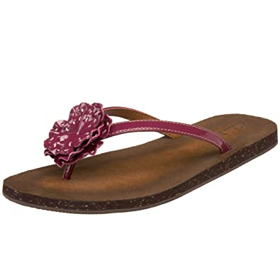 f83e92387 Clarks Salon Joy Womens Purple Thongs Sandals Shoes Size New/Display UK 9:  Amazon.co.uk: Shoes & Bags