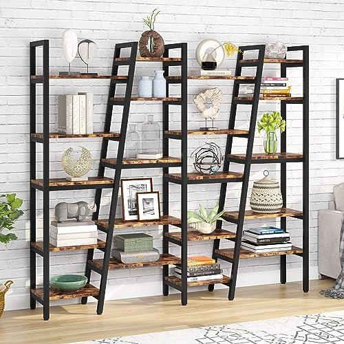 Reviewed: TIYASE 78.7×70.9 inch Extra Large Bookshelf Tall Etagere Bookcase