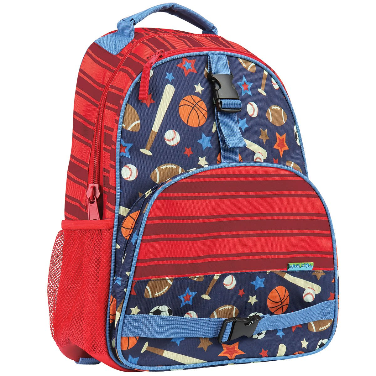 Stephen Joseph Big Boy's All Over Print Backpack, Accessory, Shark, No Size SJ112080