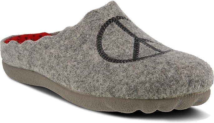 Flexus Women's Wool Slipper Peaceful