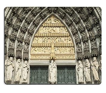 smoomfly Mousepad fachada de la Catedral gótica histórica en Colonia ...