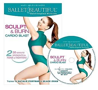 e9eafc0321 Amazon.com  Ballet Beautiful  Sculpt   Burn Cardio Blast  DVD ...