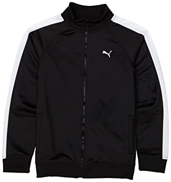 e5c6e827d2ab Amazon.com  PUMA Big Boys  7cm Track Jacket  Clothing